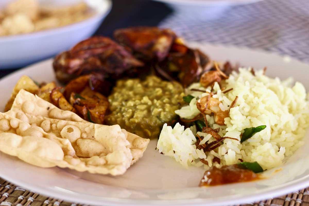 rice and curry sri lanka