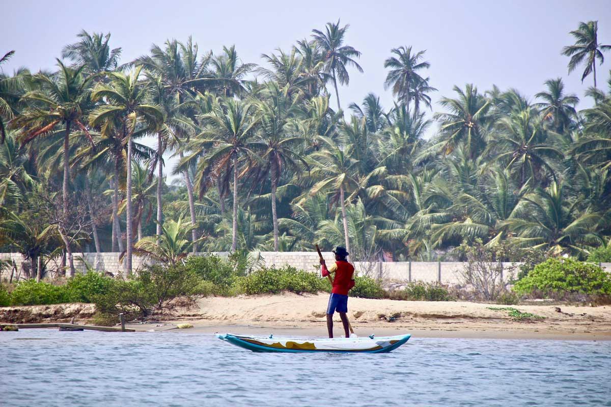 stand up paddle kite Surfing Lanka Kalpitiya