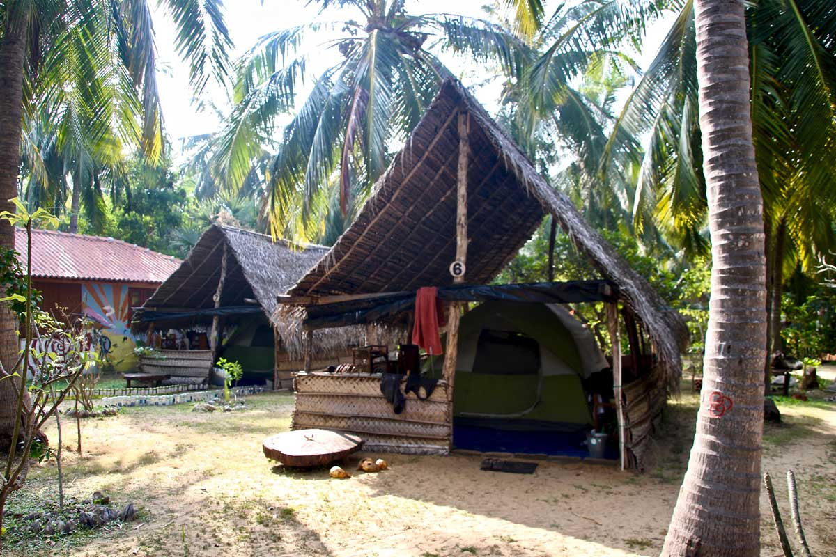 tente kite Surfing Lanka Kalpitiya