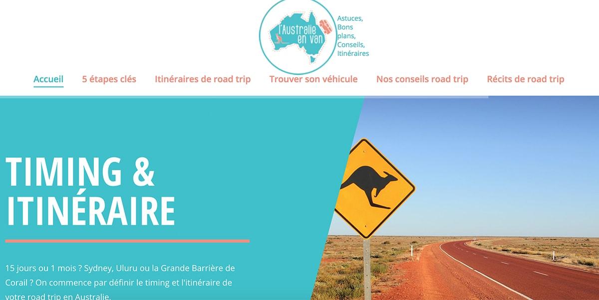 Australie en Van Conseils road trip itineraires
