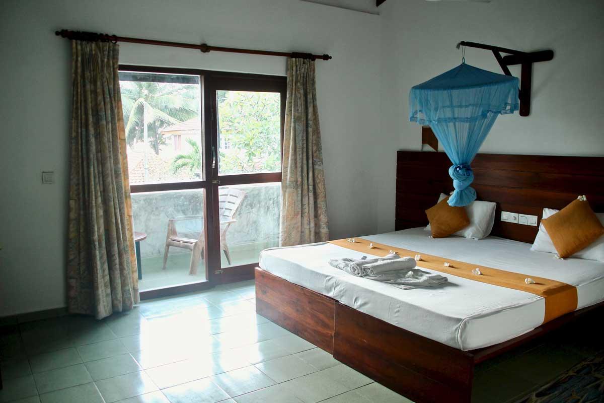 Chambre Janus Indurawa plage Sri Lanka