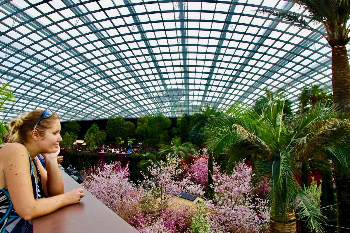 Elo Flower Dome Singapour