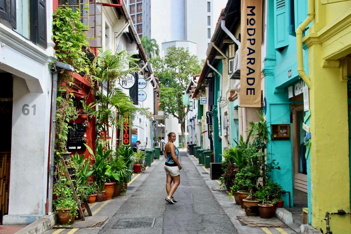Elo Haji Lane Singapour