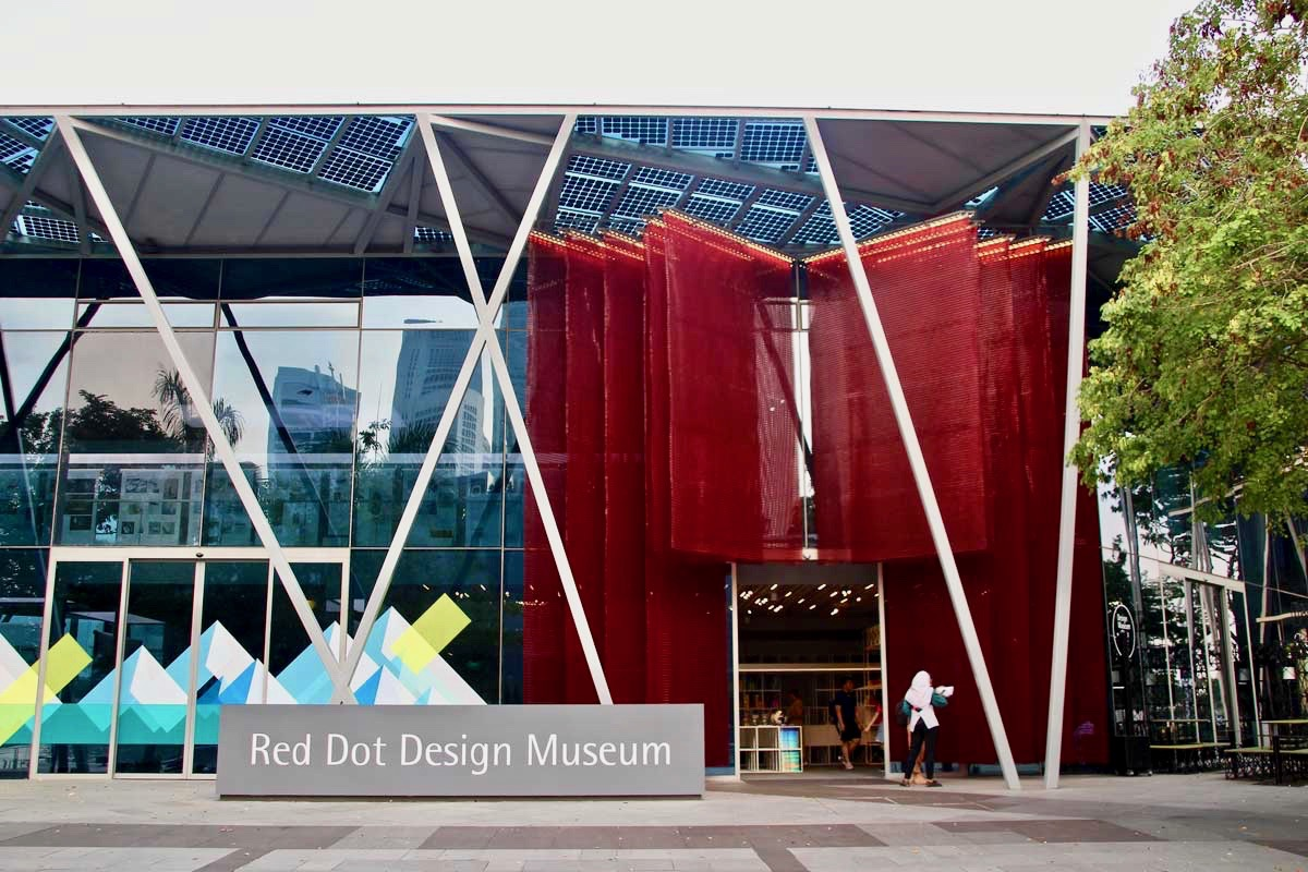 Entree musee Red Dot Design Singapour
