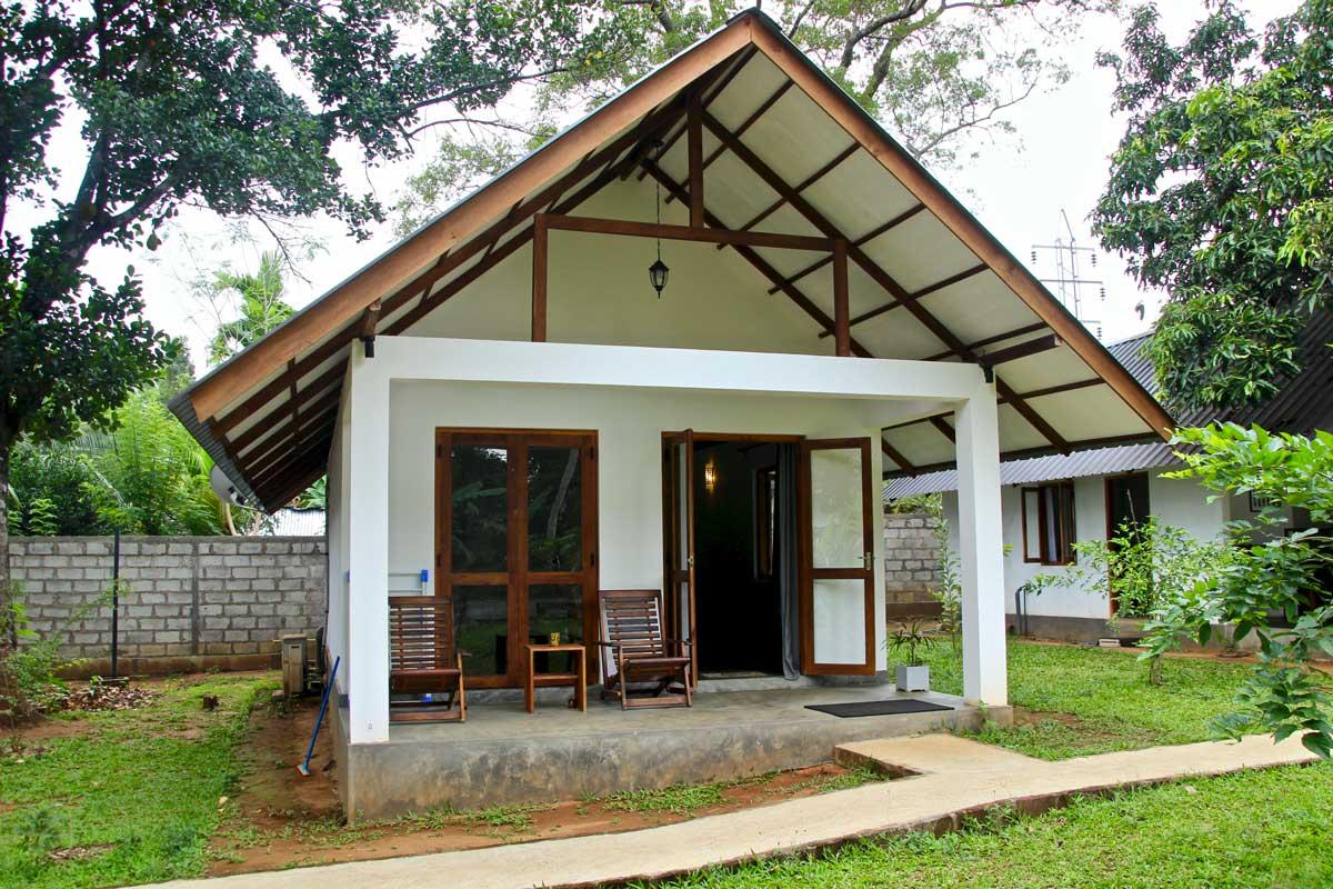 Exterieur chambre Udawalawe Sri Lanka