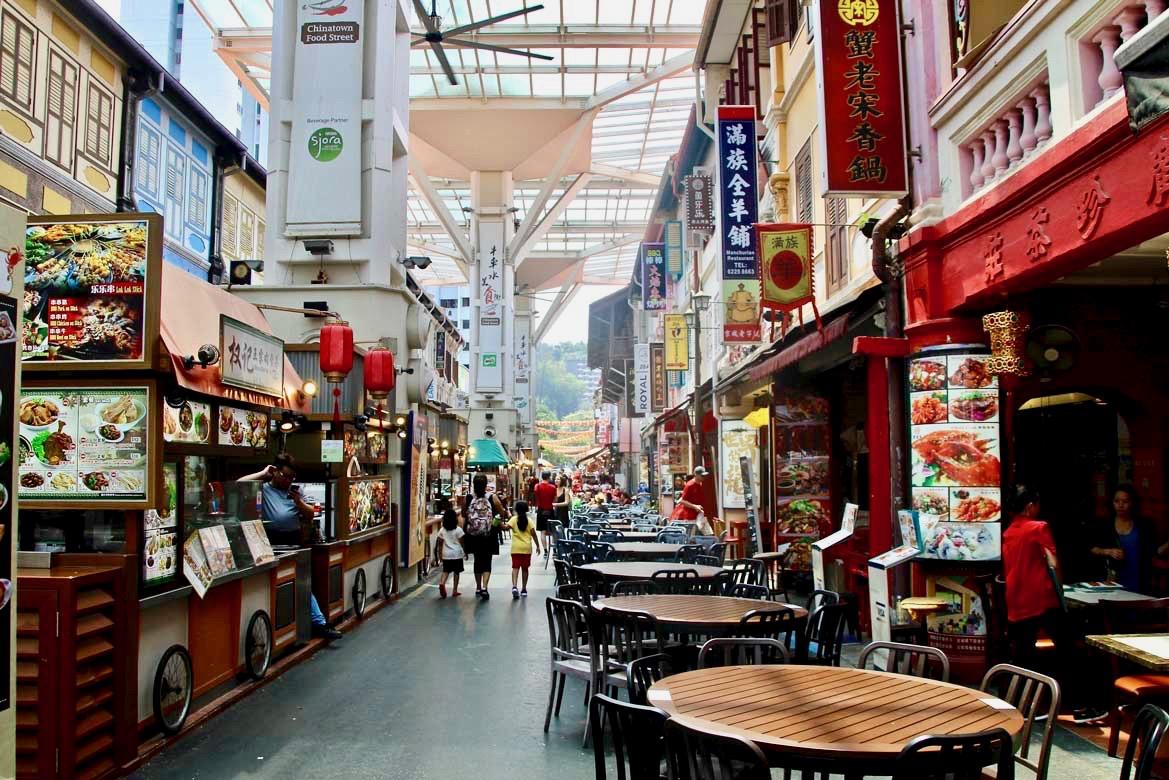 Foodcourt Chinatown Singapour