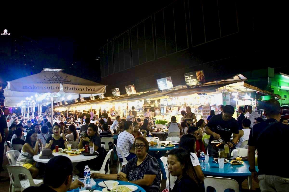 Foodcourt hawker singapour