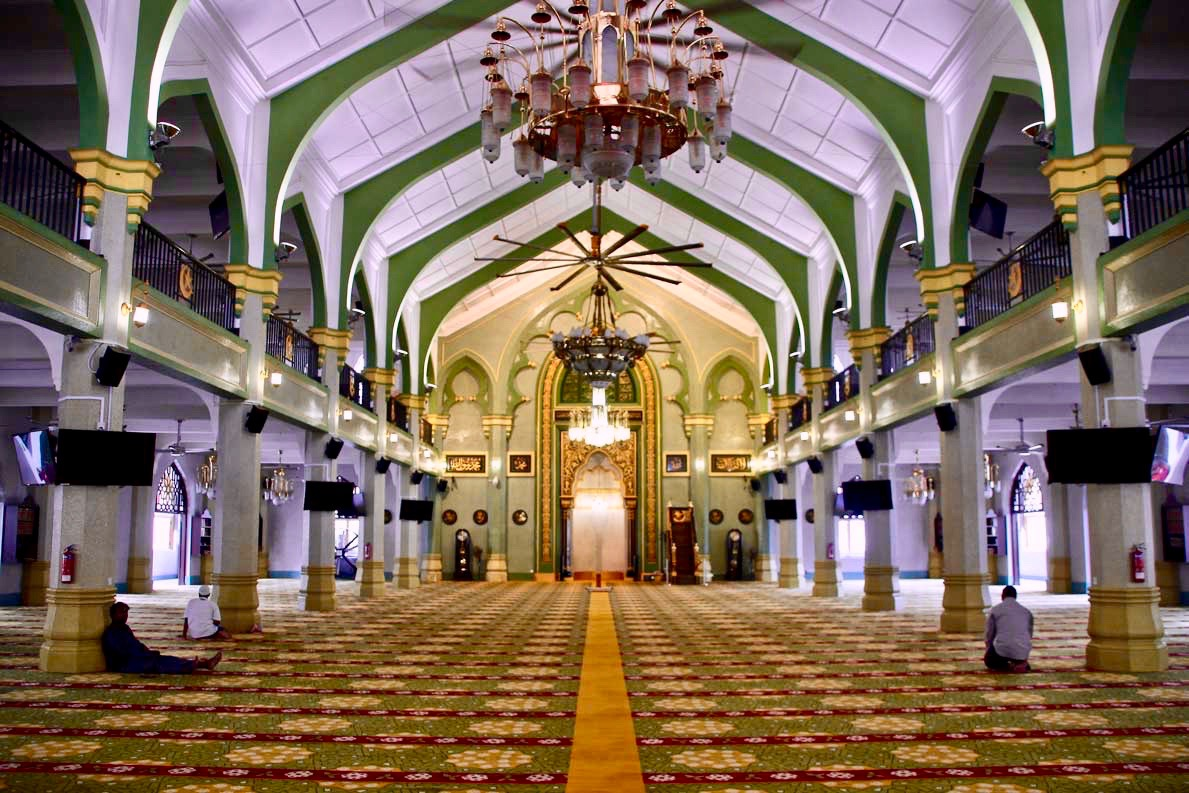 Interieur Mosquee Singapour