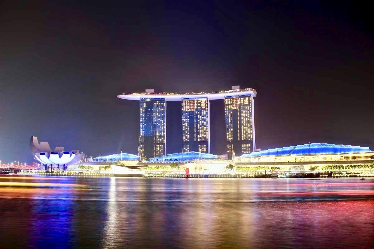 Marina Bay Singapour nuit