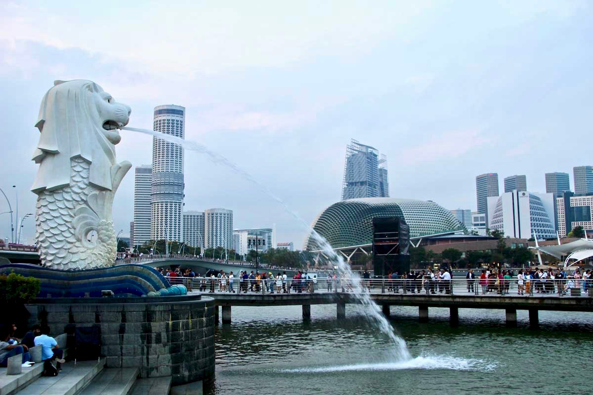 Merlion Singapour