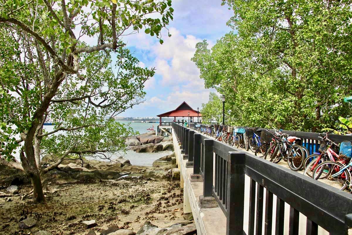 Pulau Ubin Singapour jetty
