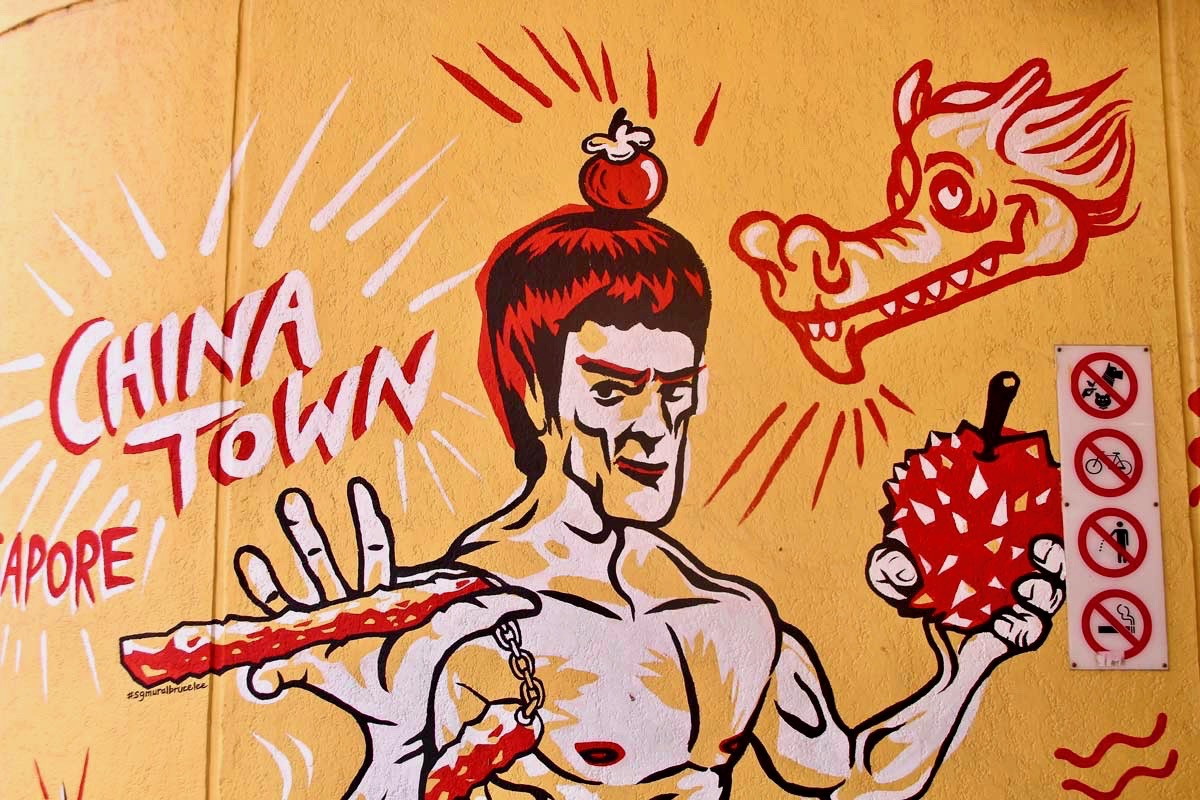 Street Art Chinatown Singapour