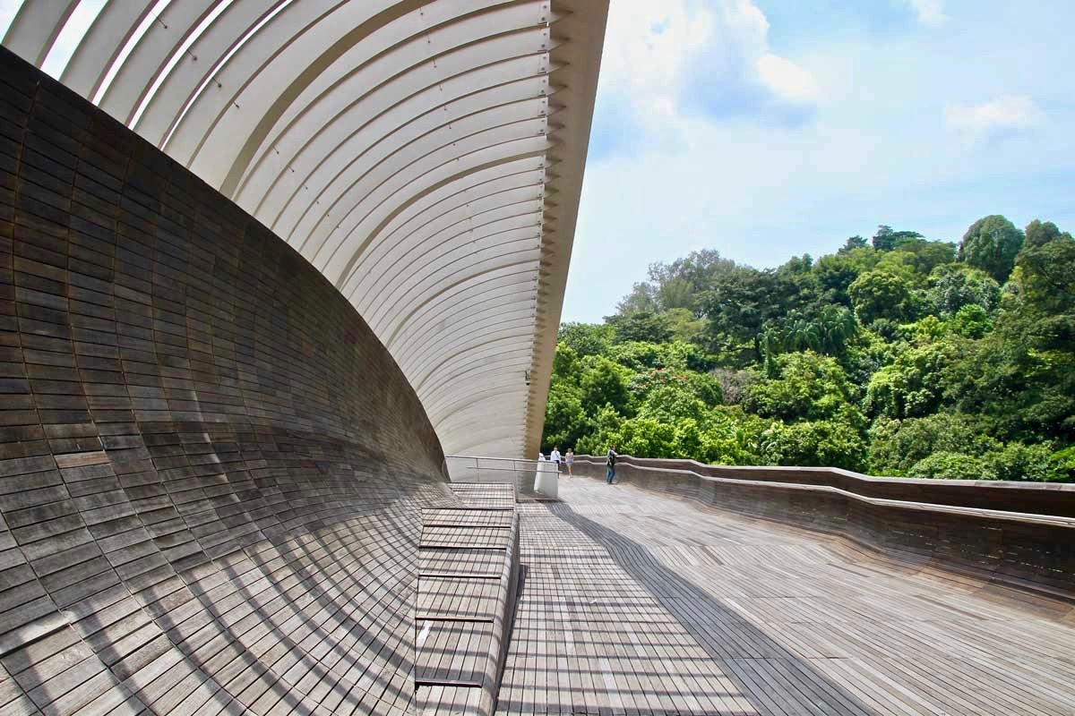 Structure Henderson Waves Singapour