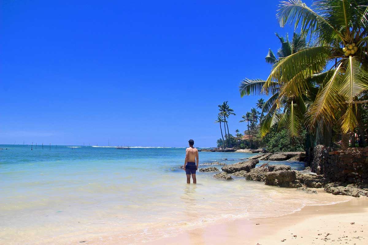 Tom plage polhena Sri Lanka