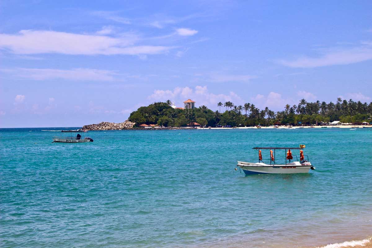 Unawatuna Plage Sud Sri Lanka