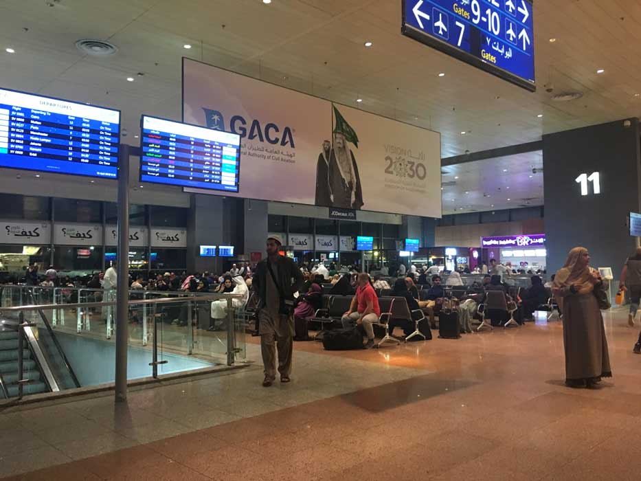 aeroport jeddah saudia airlines