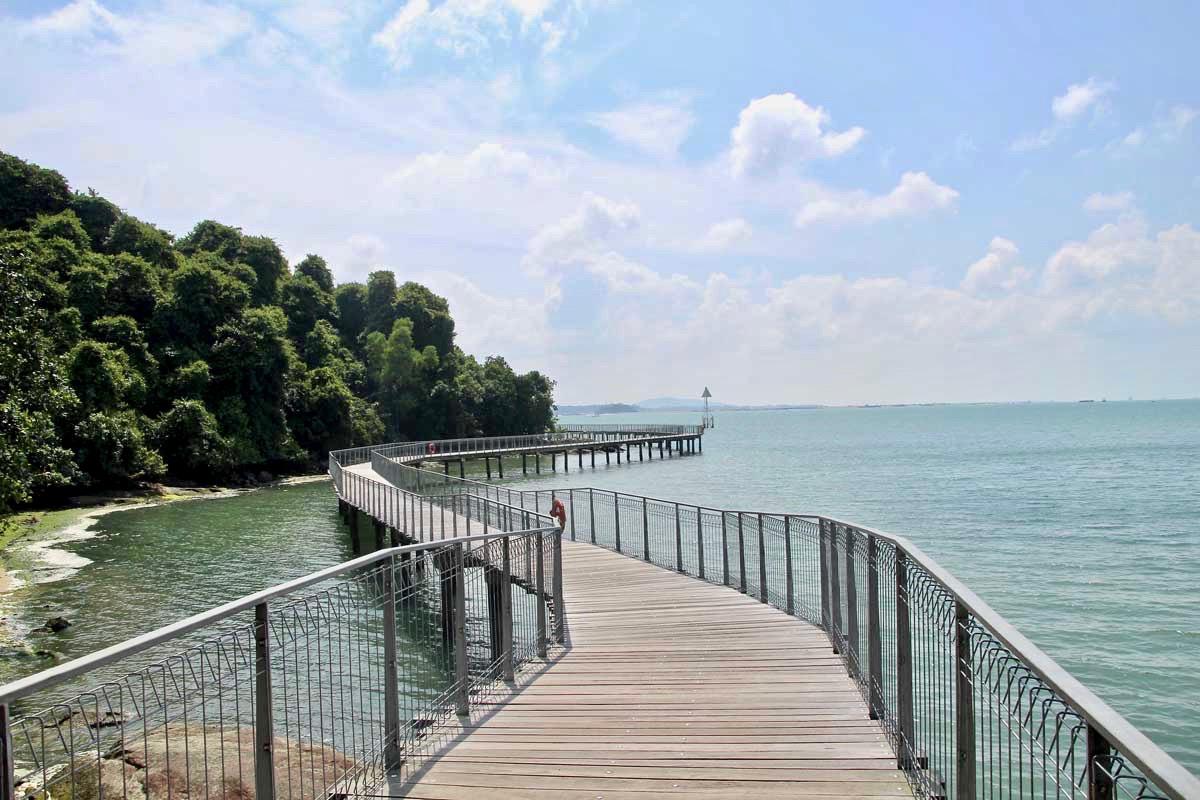 boardwalk Pulau Ubin Singapour