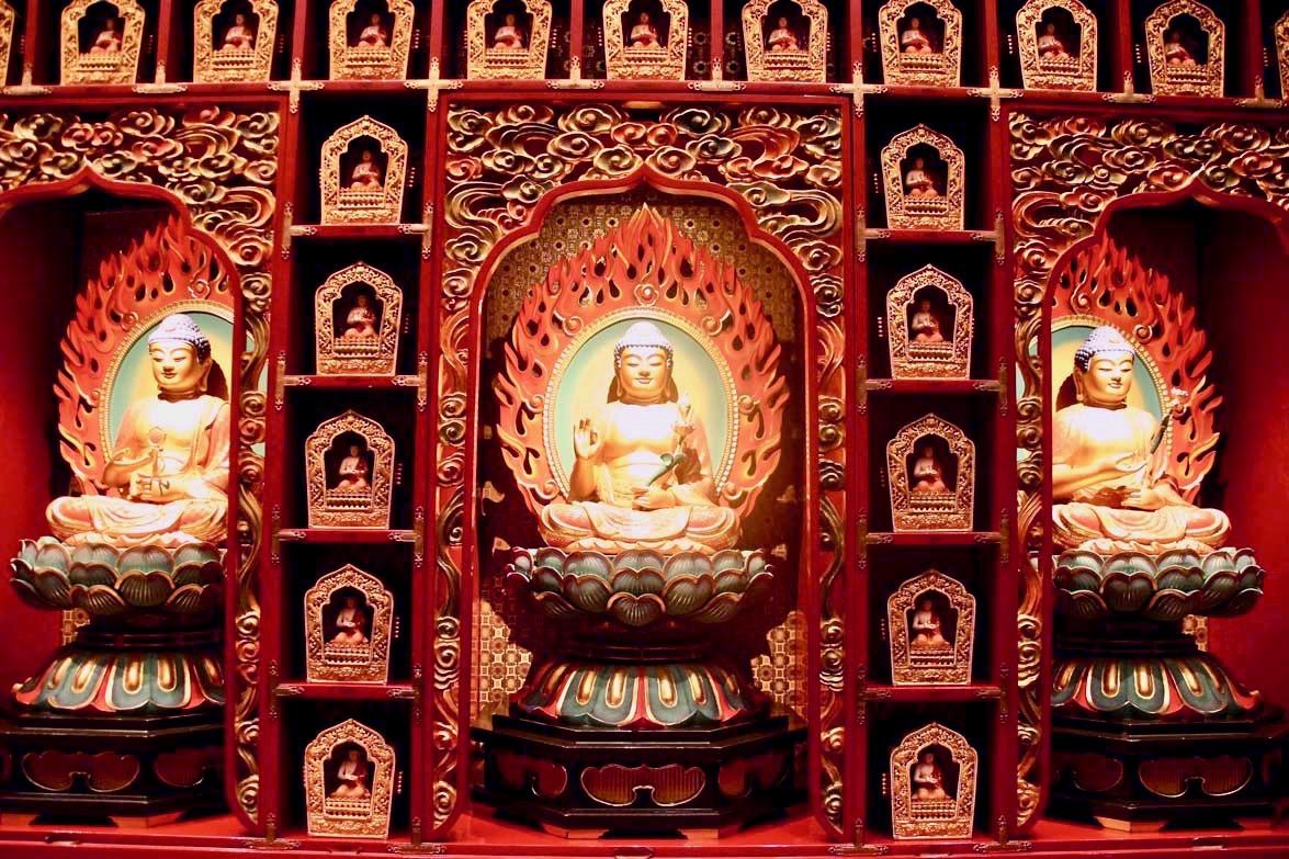 boudha temple de la relique de la dent de Bouddha