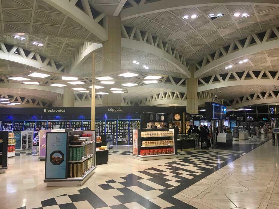 duty free aeroport riyadh arabie saoudite