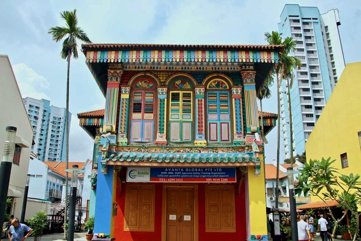 facade temple chinois Tan Teng Niah House