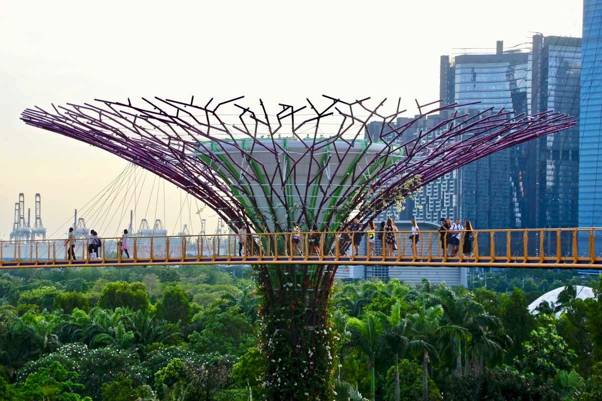 passerelle SkyWay Singapour