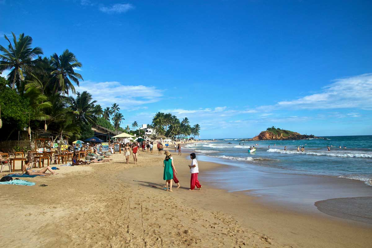 plage Mirissa Sri Lanka