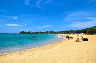 plage Unawatuna sud Sri Lanka