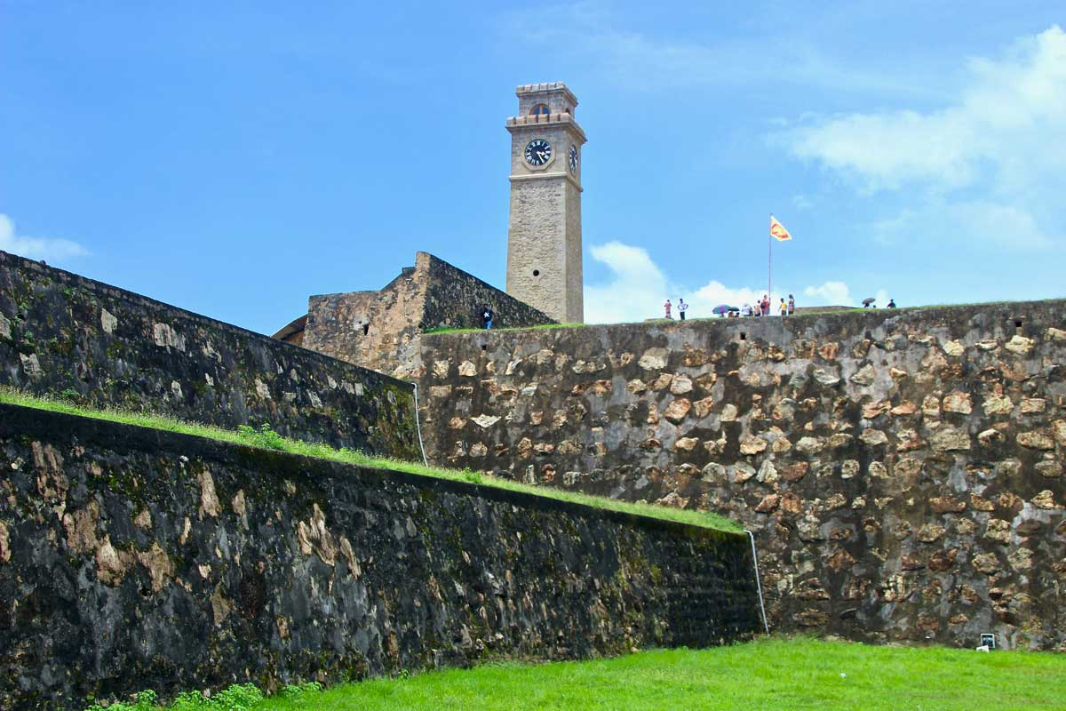 tour fort Galle Sri Lanka