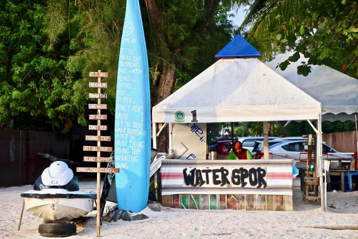 Loueur plage Langkawi