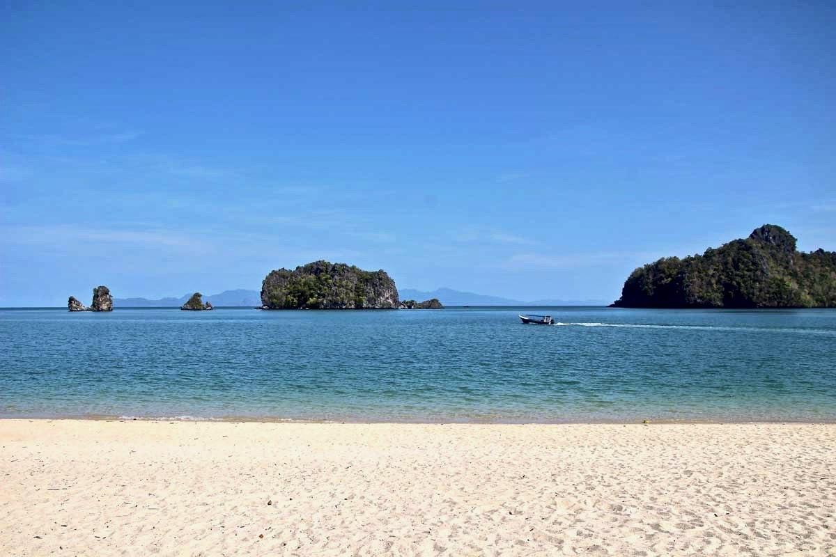 Plage paradisiaque Plage du nord Langkawi