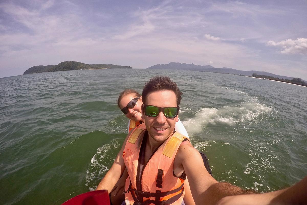 Selfie Jet Ski Langkawi