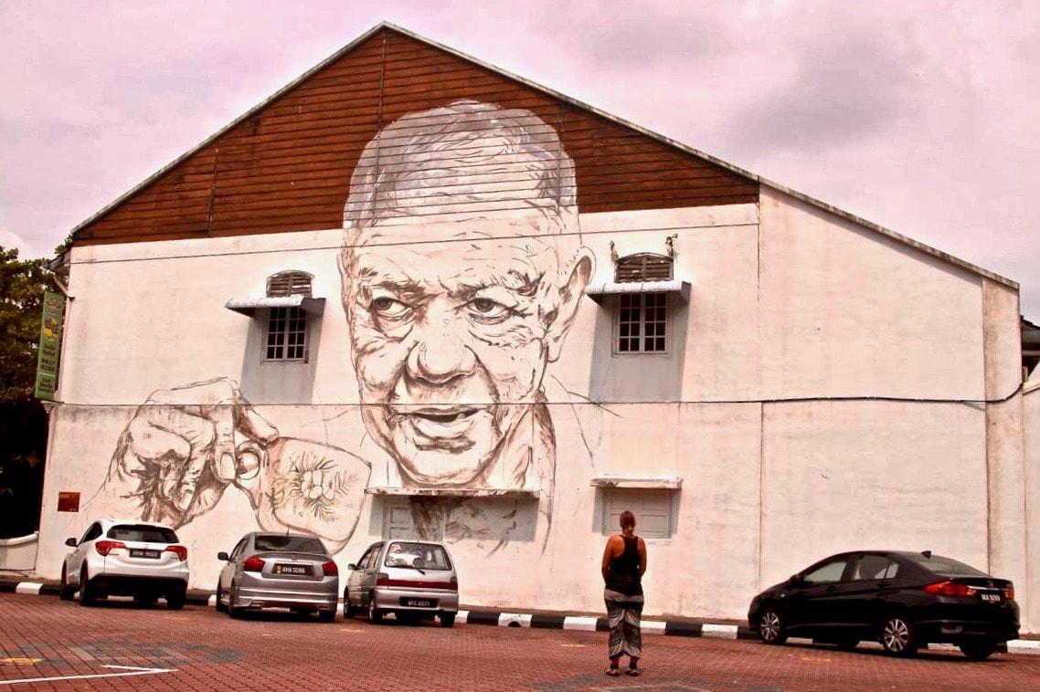 Street Art Ipoh Elo Tasse de café