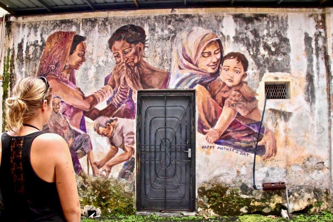 Street Art Ipoh famille Elo