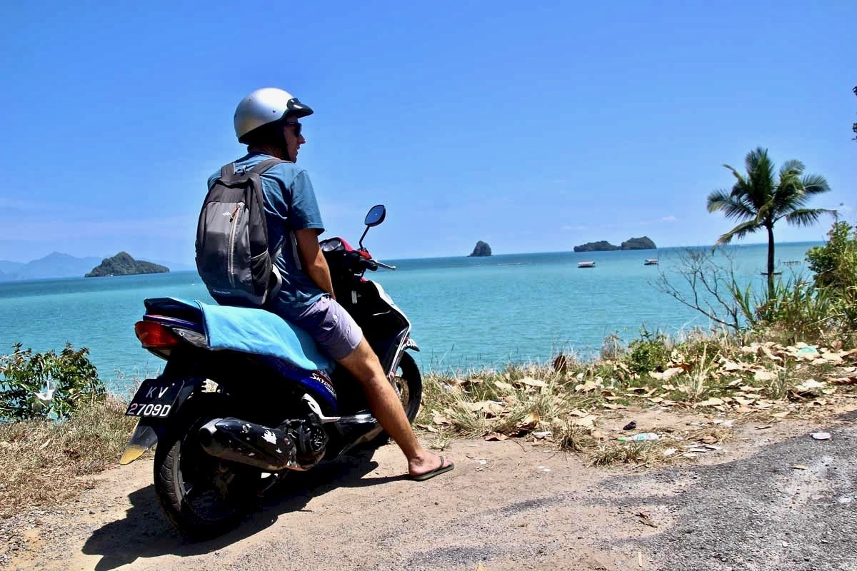 Tom scooter Langkawi