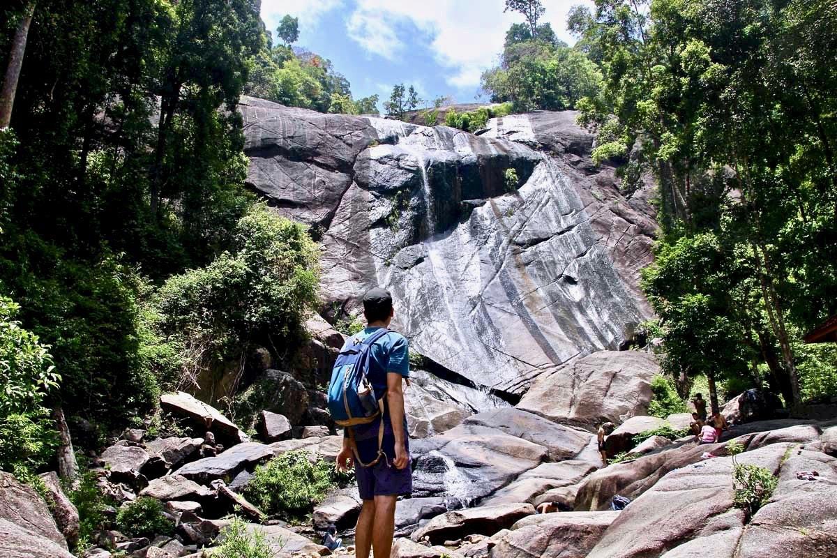 cascades Langkawi tom vue