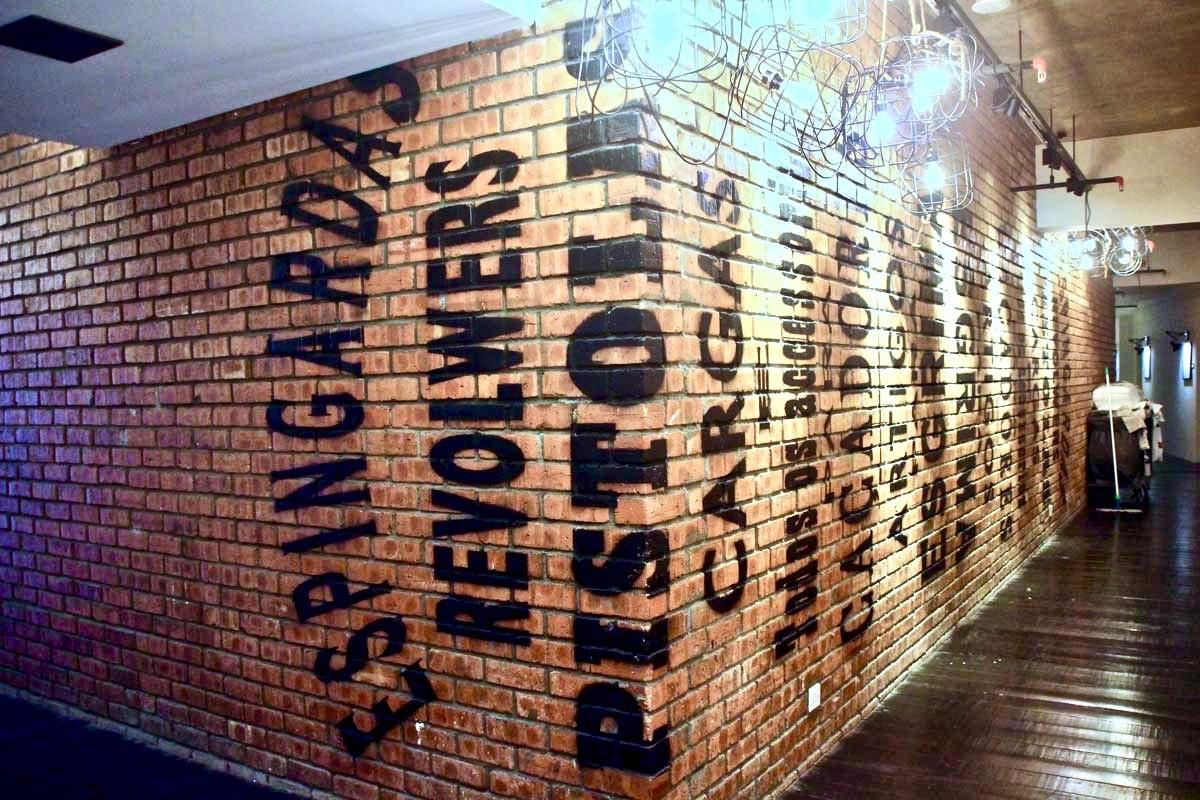 couloir deco M boutique hotel Ipoh
