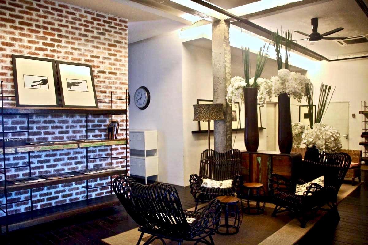 salle de détente M boutique hotel Ipoh