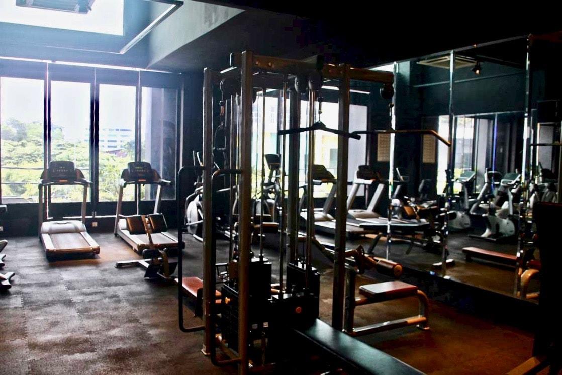 salle de sport M boutique hotel Ipoh