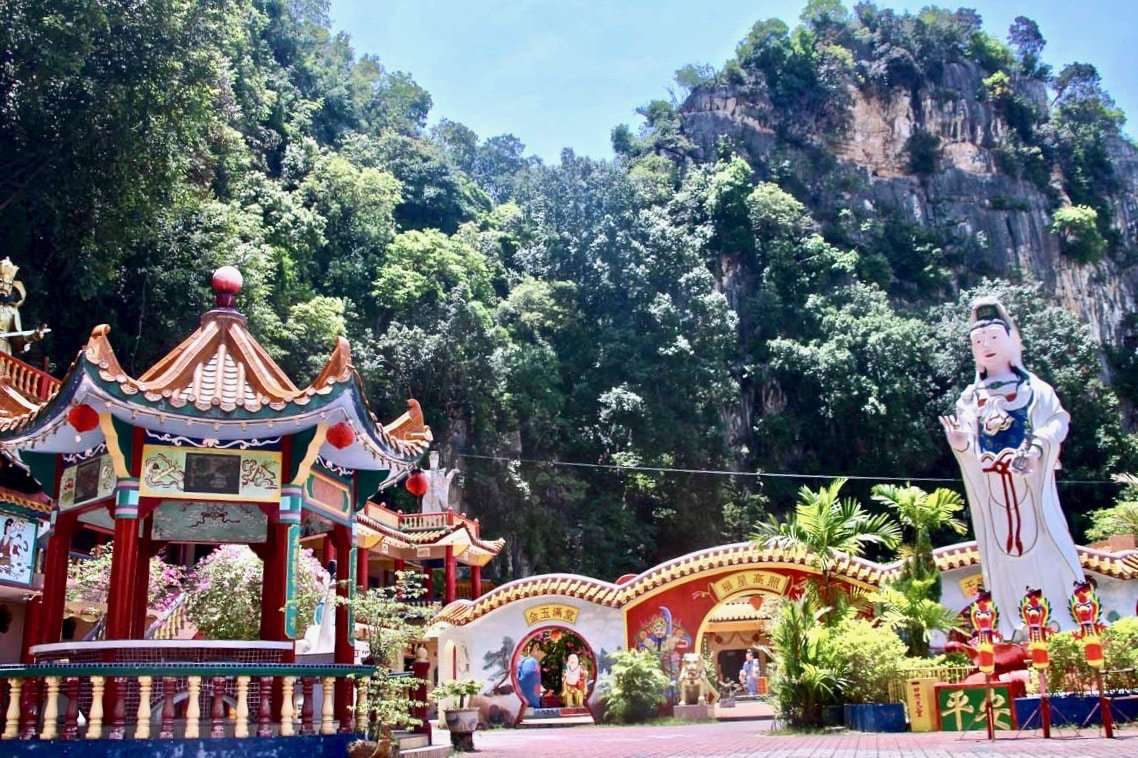 temples chinois caves montagne Ipoh