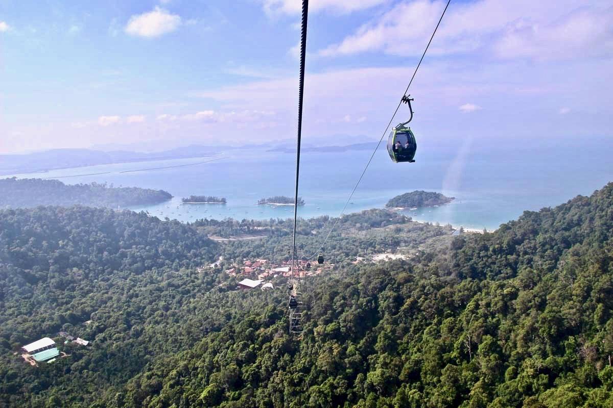 vue cote langkawi cable car