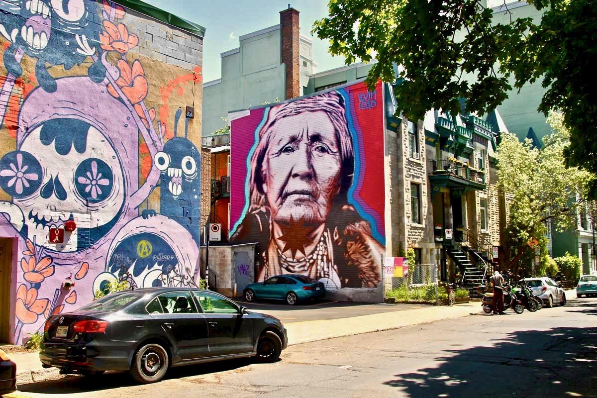 Grand mere Street Art Montréal