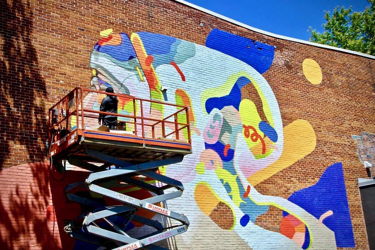artiste Festival Mural Montréal Street Art à Montréal