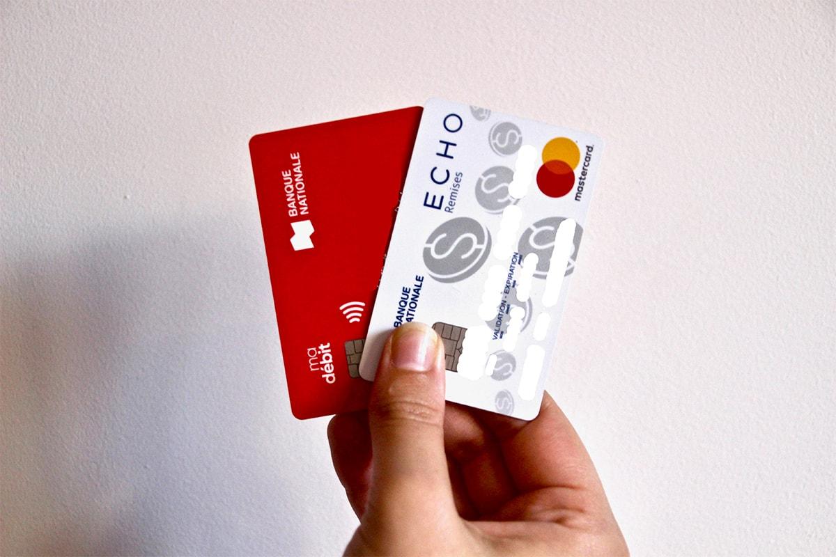 cartes bancaires canada