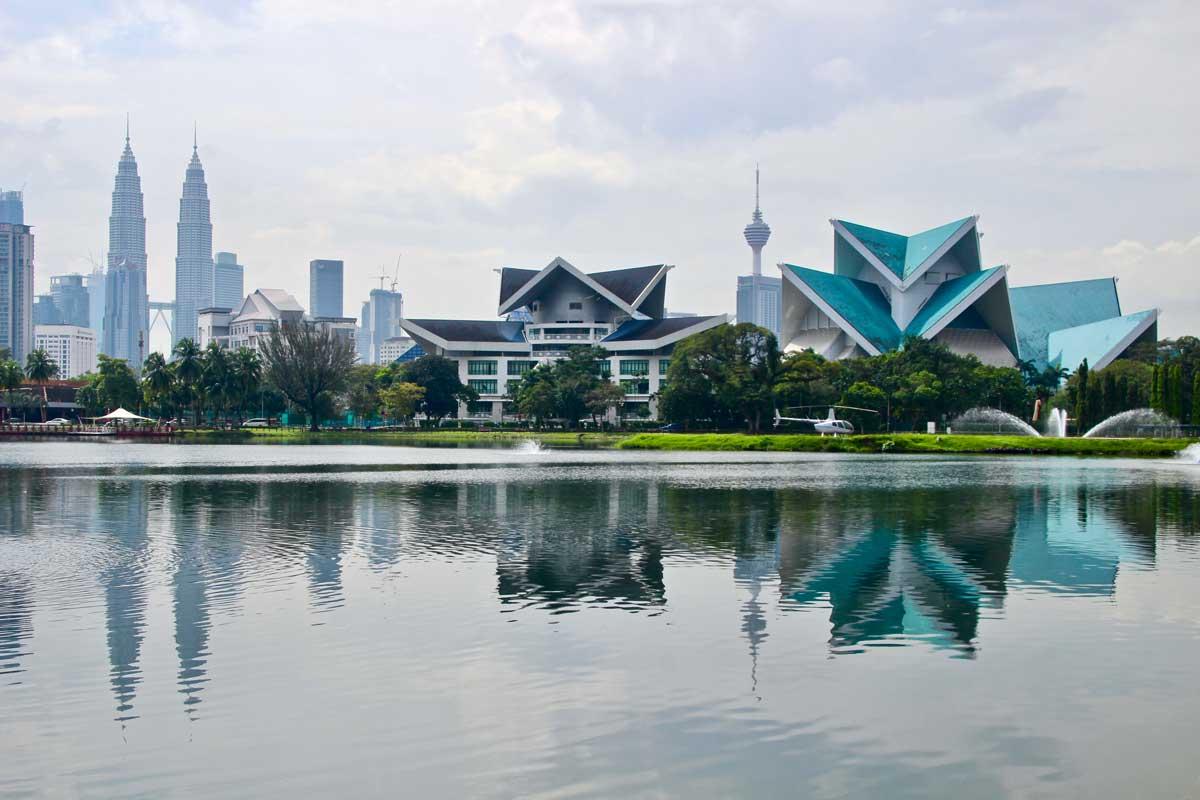 vue parc Tours Petronas Kuala Lumpur