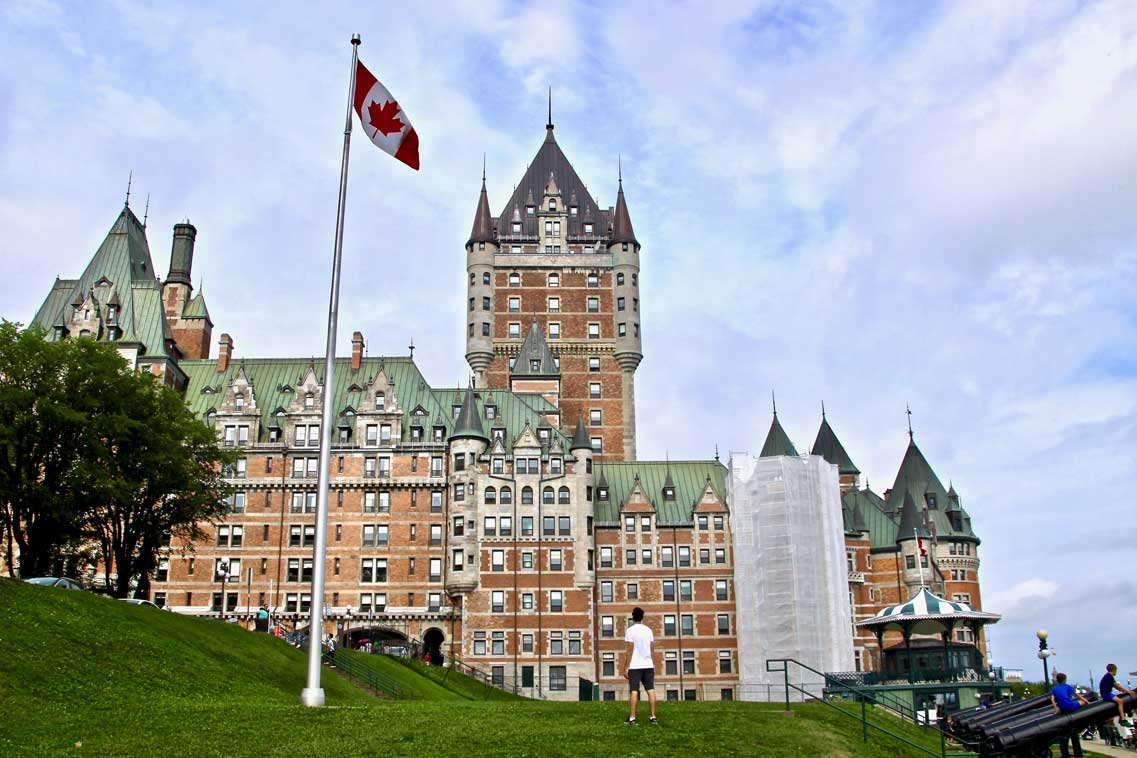 château hôtel frontenac quebec