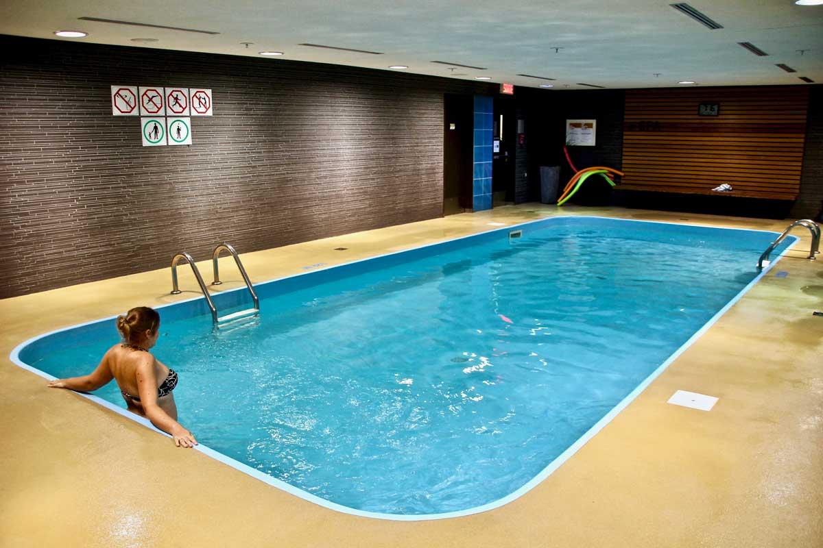 piscine hotel chateau laurier quebec