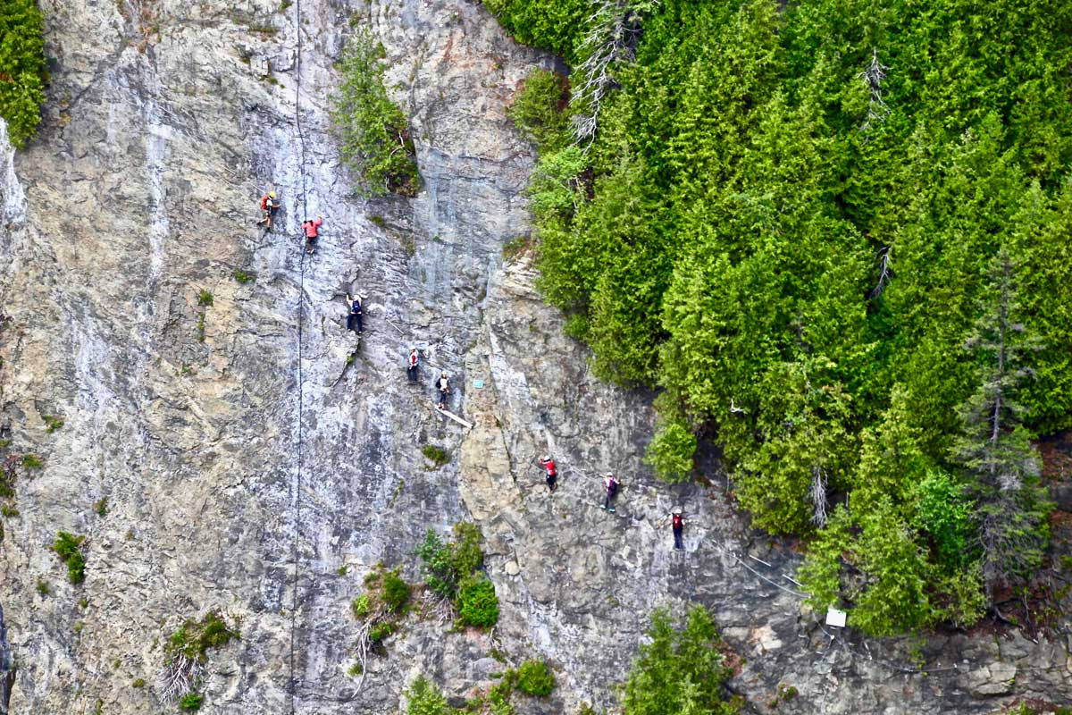 via ferrata chute montmorency