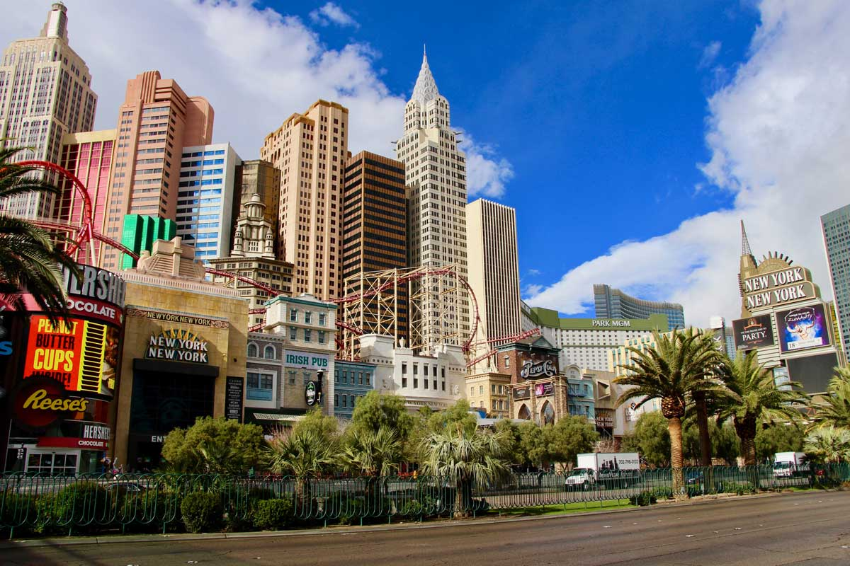 Casino hotel New York New York Las Vegas