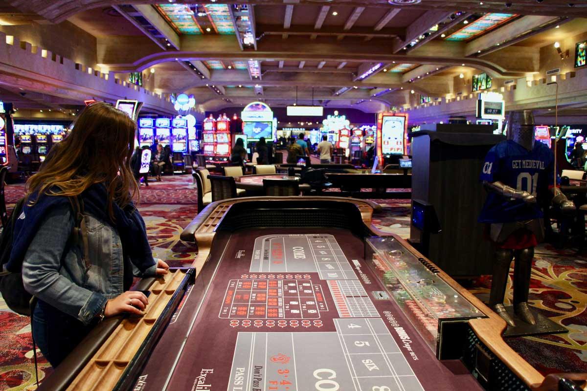 Elo Excalibur Las Vegas Craps