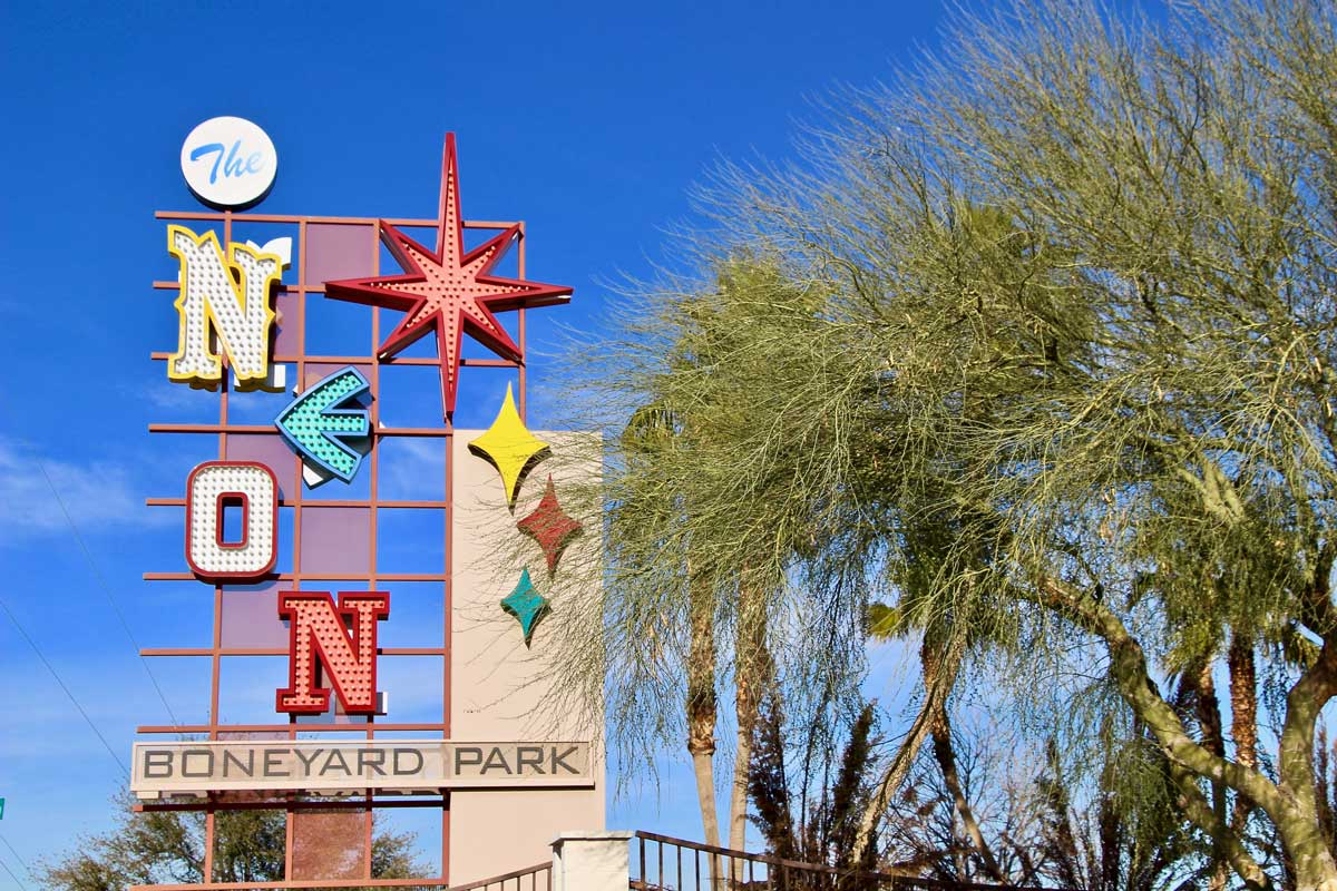 Entree musee du neon Las Vegas